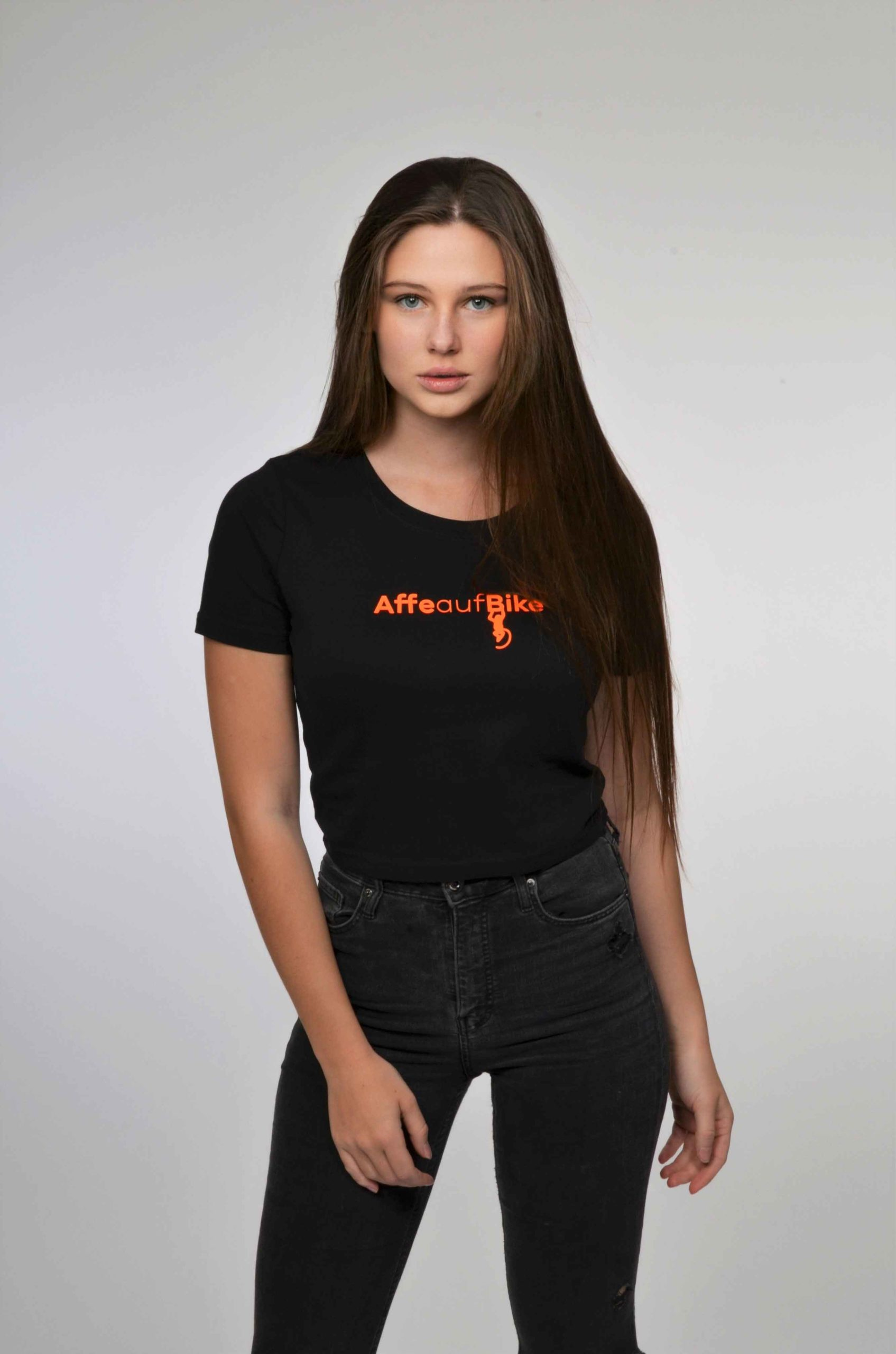 T-shirt-kurz-(orange)